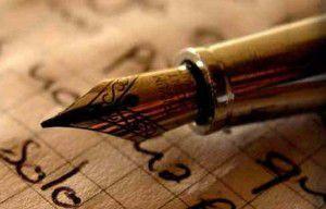 escritura-pluma