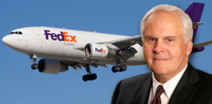 Fred Smith con FedEx