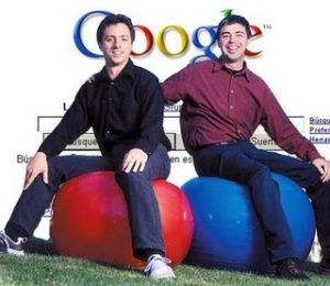 Ларри Пейдж и Сергей Брин с Google