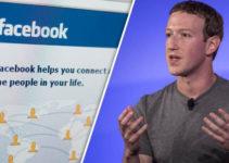Mark Zuckerberg con Facebook