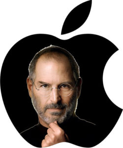 Steve Jobs con Apple