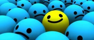 Mantente positivo, cuando el mundo este negativo. Un gran reto.