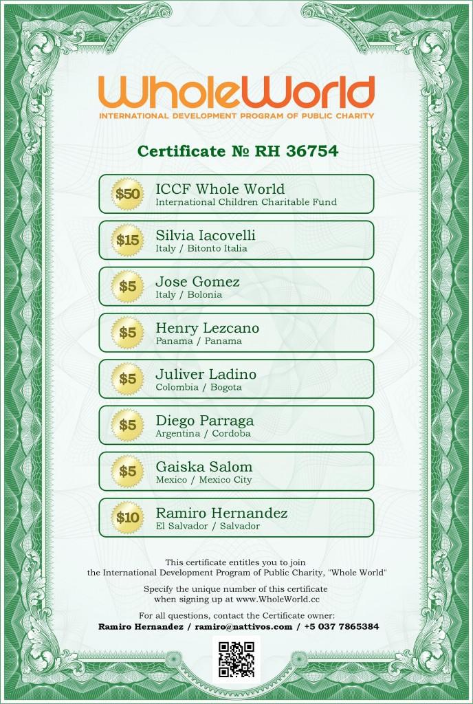 WholeWorld-Certificate-RH36754-en