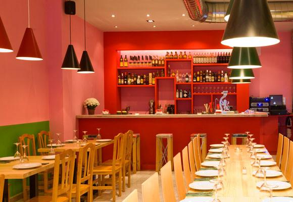 Colores para pintar un restaurante for Decoraciones para cevicherias